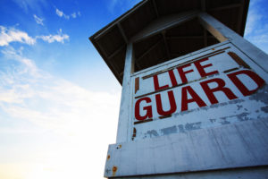 Lifeguard at Weymouth Club